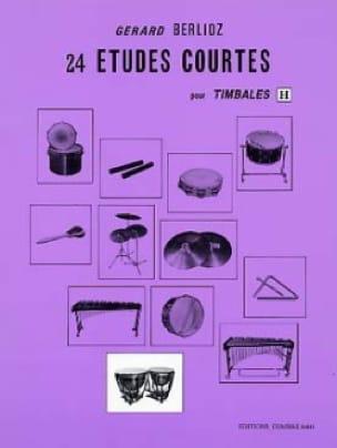 24 Etudes Courtes Volume H - BERLIOZ - Partition - laflutedepan.com