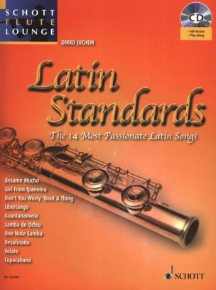 Latin Standards - Partition - Flûte traversière - laflutedepan.com