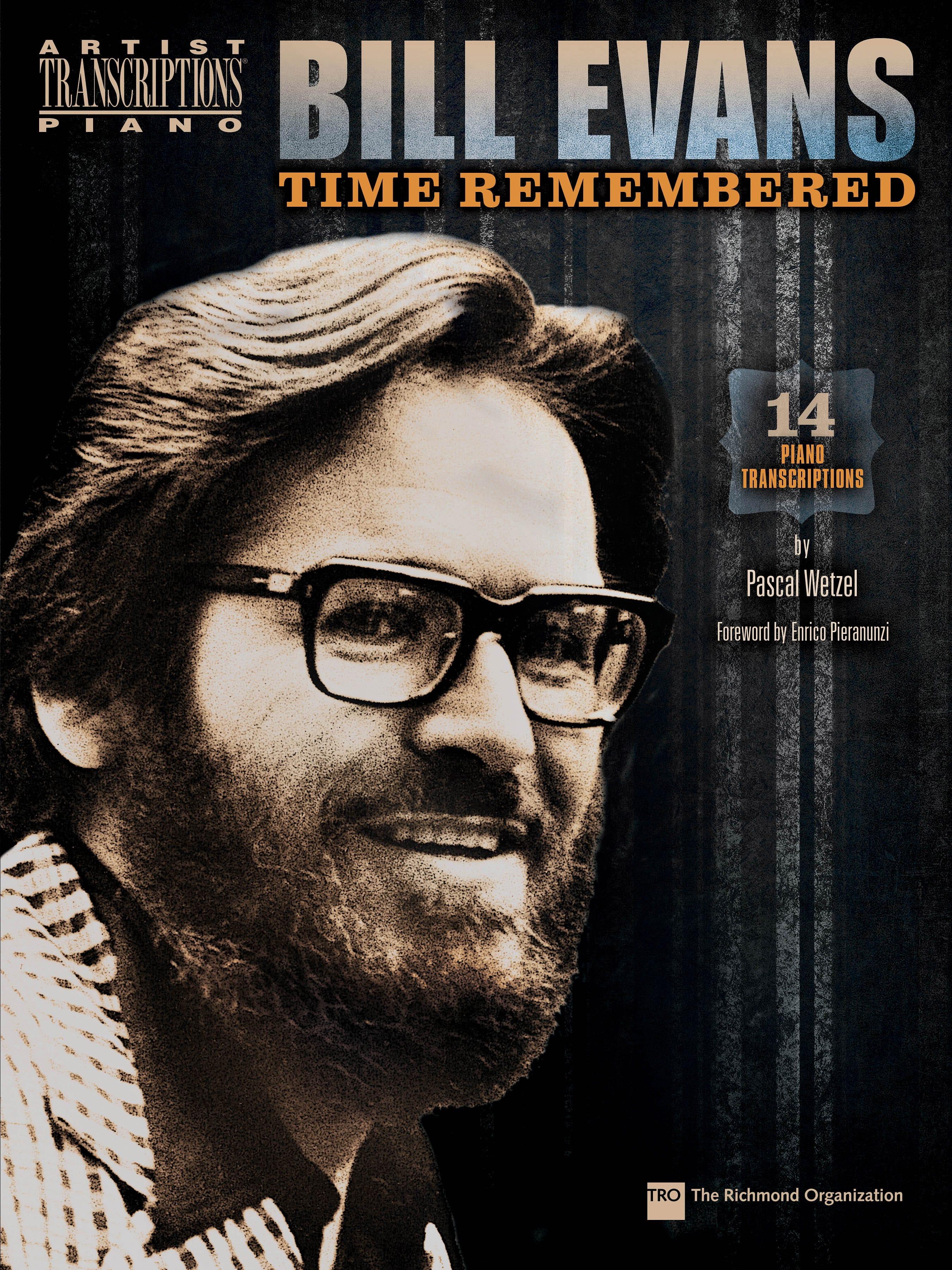 Time remembered - Bill Evans - Partition - Jazz - laflutedepan.com