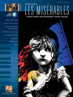 Piano Duet Play-Along Volume 14 - Les Misérables - laflutedepan.com
