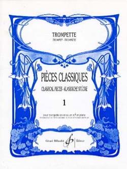 Pièces Classiques Volume 1 Partition Trompette - laflutedepan