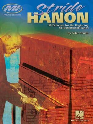 Stride Hanon Peter Deneff Partition Jazz - laflutedepan