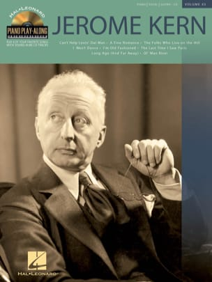 Piano Play-Along Volume 43 - Jerome Kern Jerome Kern laflutedepan