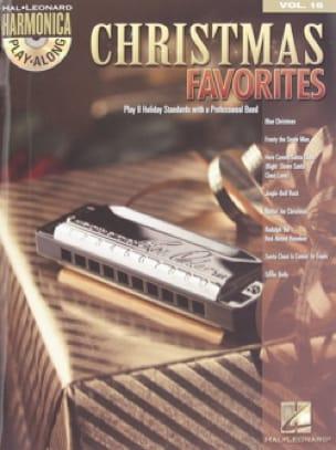 Harmonica Play-Along Volume 16 - Christmas Favorites - laflutedepan.com