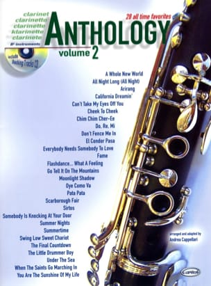 Anthology Volume 2 Partition Clarinette - laflutedepan