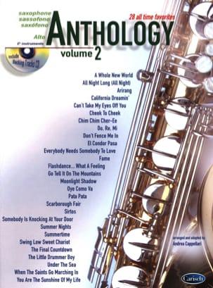 Anthology Volume 2 Partition Saxophone - laflutedepan