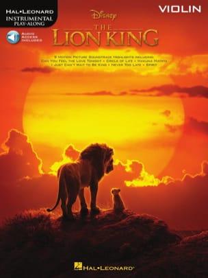 Le Roi Lion - Musique du film pour Violon DISNEY laflutedepan
