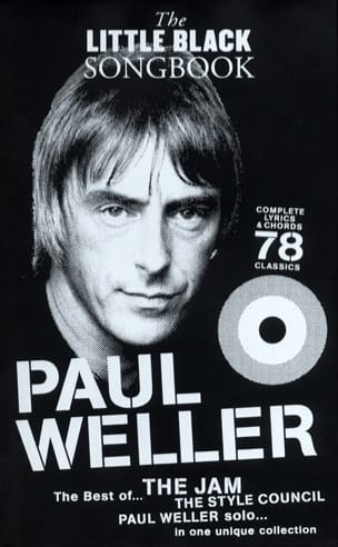 The Little Black Songbook Paul Weller Partition laflutedepan