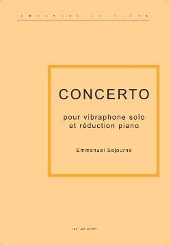 Concerto Pour Vibraphone Et Piano Emmanuel Séjourné laflutedepan