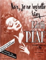 Edith Piaf - No, I do not regret anything - Partition - di-arezzo.co.uk