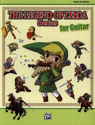 The legend of Zelda series for guitar laflutedepan