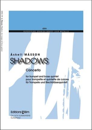 Shadows - Askell Masson - Partition - laflutedepan.com