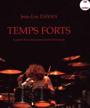 Temps forts Jean-Luc Dayan Partition Batterie - laflutedepan