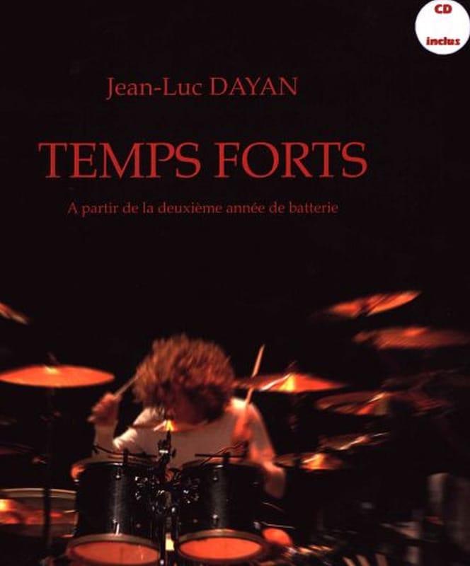 Temps forts - Jean-Luc Dayan - Partition - Batterie - laflutedepan.com