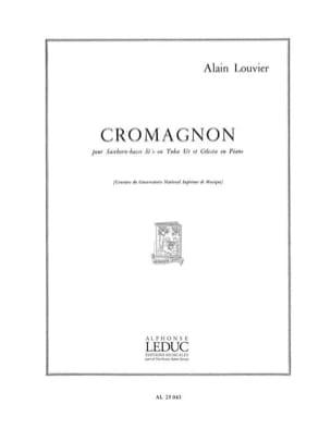 Cromagnon - Alain Louvier - Partition - Tuba - laflutedepan.com