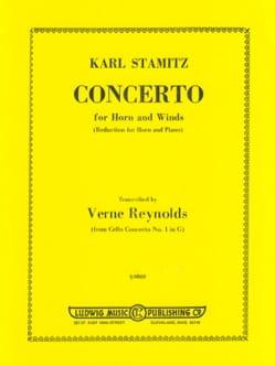 Concerto Karl Stamitz Partition Cor - laflutedepan
