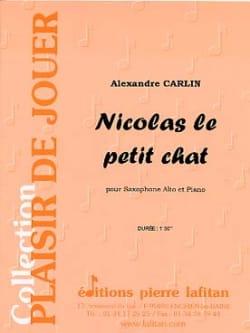 Nicolas le petit chat Alexandre Carlin Partition laflutedepan
