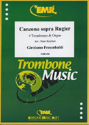 Canzona sopra Rugier 1634 - FRESCOBALDI - Partition - laflutedepan.com