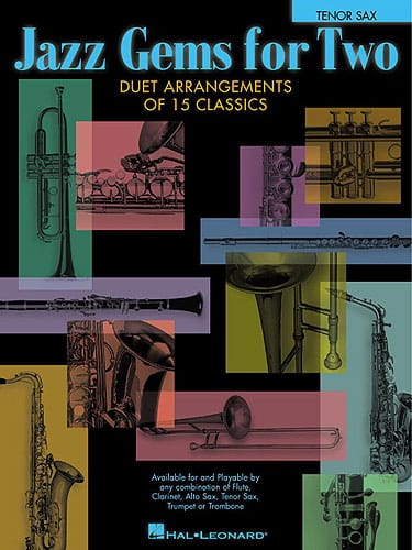 Jazz Gems For Two - Partition - Saxophone - laflutedepan.com