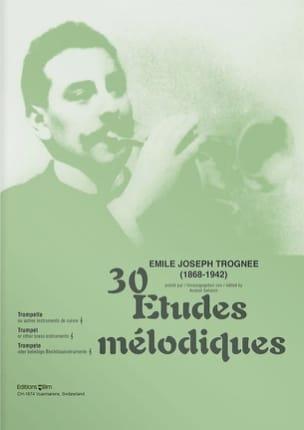 30 Etudes Mélodiques Emile Joseph Trognée Partition laflutedepan