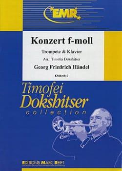 Konzert In F-Moll HAENDEL Partition Trompette - laflutedepan