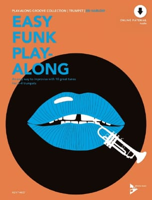 Easy Funk Play-Along Ed Harlow Partition Trompette - laflutedepan