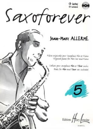 Saxoforever Volume 5 - Jean-Marc Allerme - laflutedepan.com