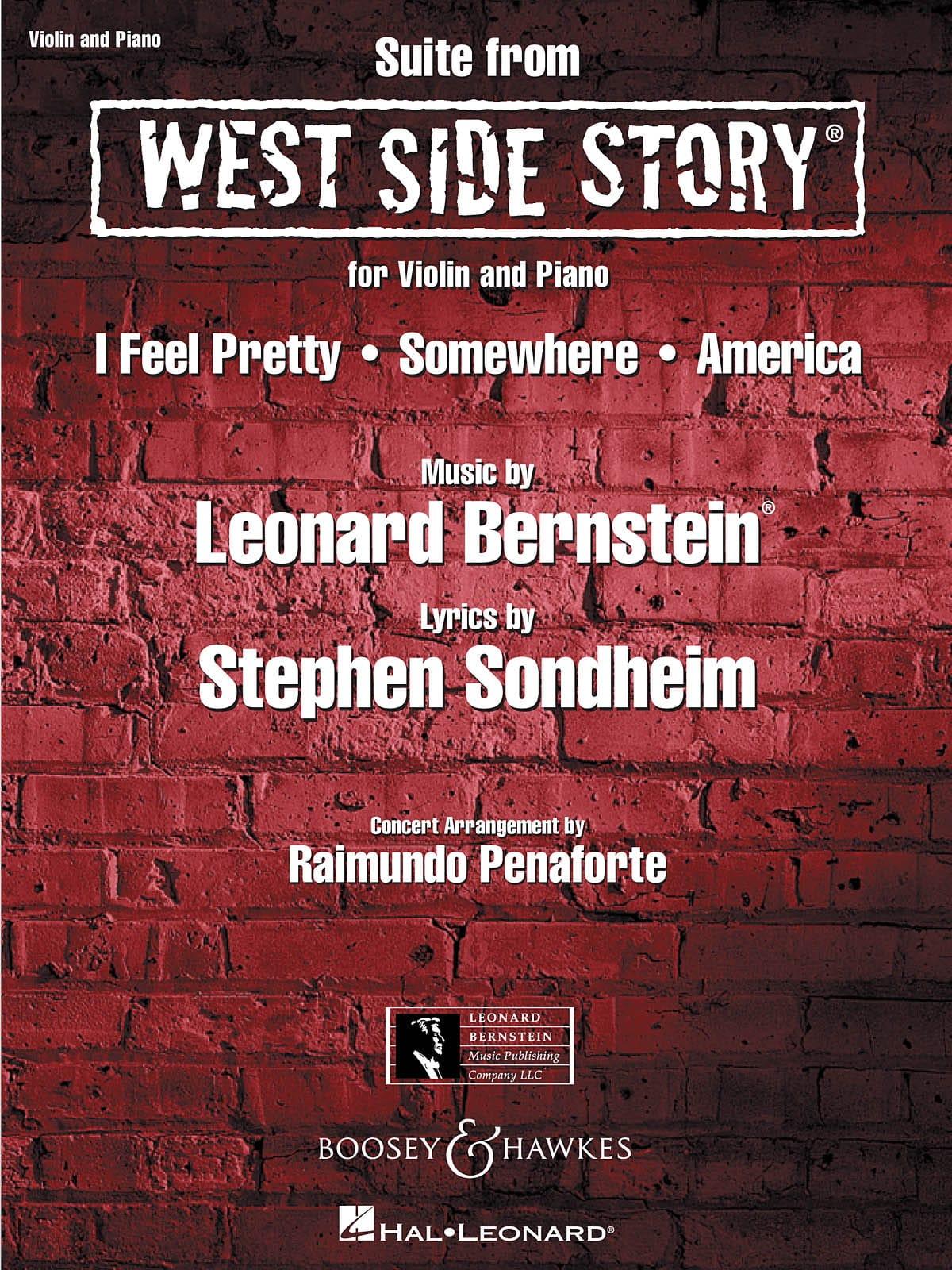 West Side Story - BERNSTEIN - Partition - Violon - laflutedepan.com