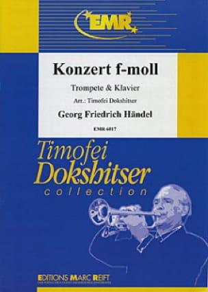 Konzert In F-Moll - HAENDEL - Partition - Trompette - laflutedepan.com