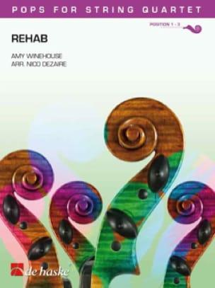 Rehab - Pops for String Quartet - Amy Winehouse - laflutedepan.com