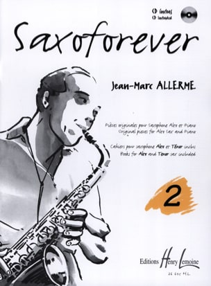 Saxoforever Volume 2 Jean-Marc Allerme Partition laflutedepan