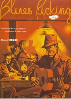 Blues picking Alain Giroux Partition Guitare - laflutedepan
