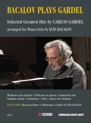 Bacalov Plays Gardel Carlos Gardel Partition laflutedepan