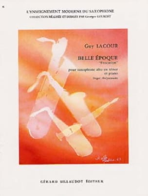 Belle Epoque Evocation - Guy Lacour - Partition - laflutedepan.com