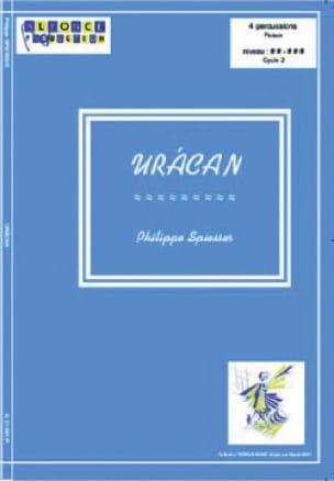 Uracan - Philippe Spiesser - Partition - laflutedepan.com