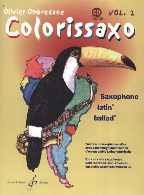 Colorissaxo - Volume 2 - Olivier Ombredane - laflutedepan.com