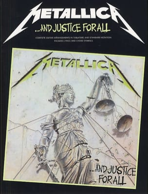Metallica - And Justice For All - Partition - di-arezzo.co.uk