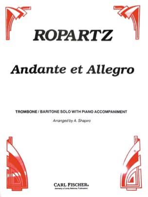 Andante & Allegro - Guy Ropartz - Partition - laflutedepan.com