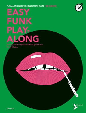 Easy Funk Play-Along Ed Harlow Partition laflutedepan