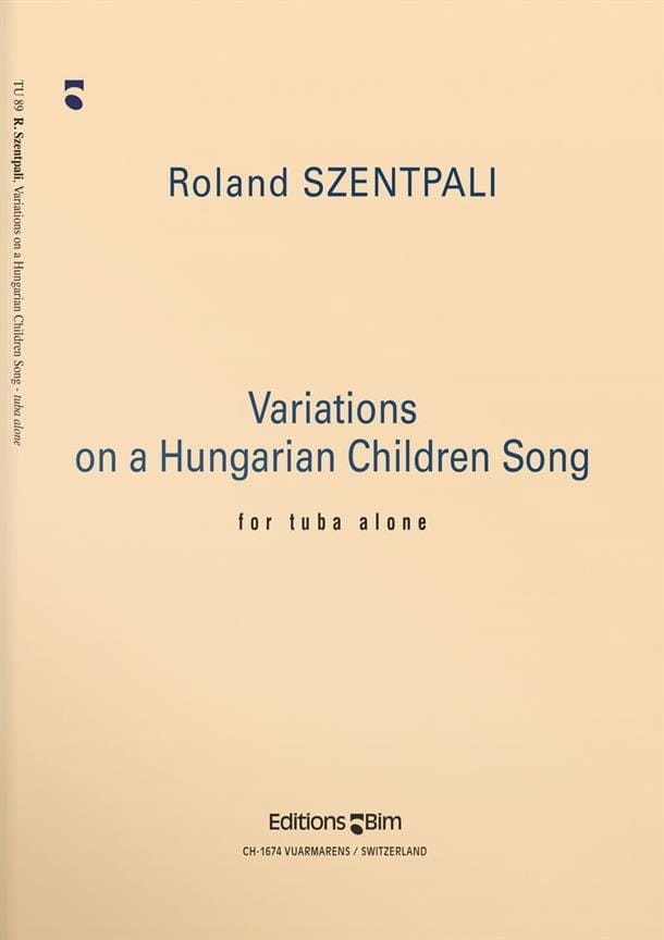 Variations On A Hungarian Children Song - laflutedepan.com