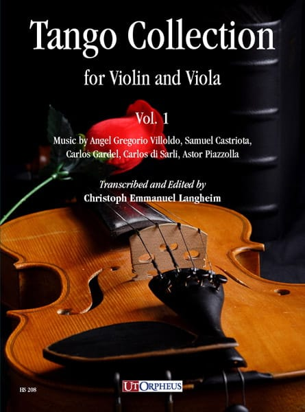 Tango Collection for Violin and Viola - Volume 1 - laflutedepan.com