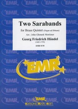 Two Sarabands HAENDEL Partition Ensemble de cuivres - laflutedepan