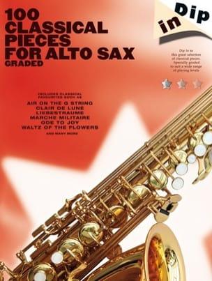 100 Classical Pieces For Alto Sax - Dip In Partition laflutedepan