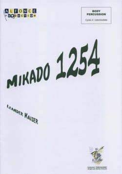 Mikado 1254 Leander Kaiser Partition laflutedepan
