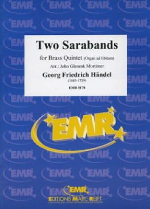 Two Sarabands - HAENDEL - Partition - laflutedepan.com