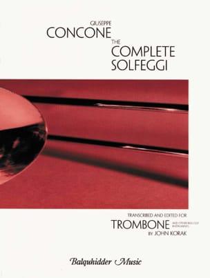 The Complet Solfeggi Trombone Giuseppe Concone Partition laflutedepan