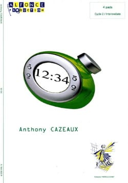 12:34 Anthony Cazeaux Partition Ensemble de percussions - laflutedepan