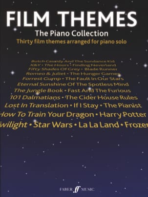 Film Themes - The Piano Collection Partition laflutedepan
