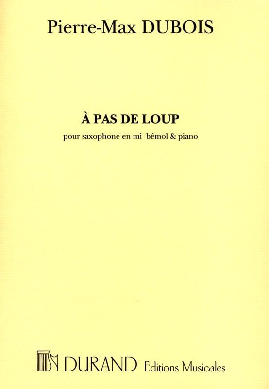 A Pas de Loup - Pierre-Max Dubois - Partition - laflutedepan.com