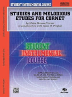 Vincent M.H / Ployhar J. - Studies - melodious etudes for cornet volume 2 - Partition - di-arezzo.co.uk